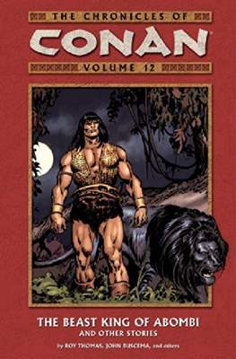 The Chronicles of Conan the Barbarian (Paperback) #12