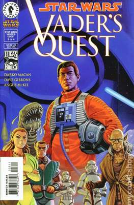 Star Wars - Vader's Quest (1999) (Comic Book) #3