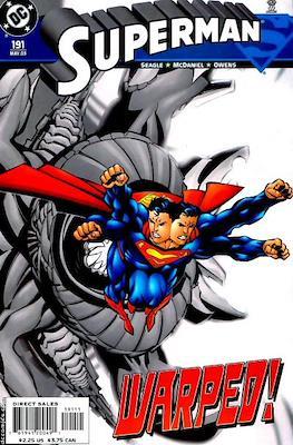 Superman Vol. 2 (1987-2006) (Comic Book) #191