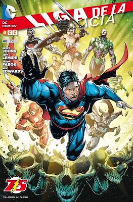 Liga de la Justicia. Nuevo Universo DC / Renacimiento (Grapa) #40
