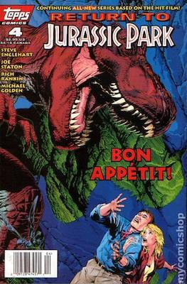Return To Jurassic Park (Comic Book) #4