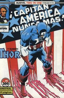 Capitán América Vol. 1 / Marvel Two-in-one: Capitán America & Thor Vol. 1 (1985-1992) (Grapa 32-64 pp) #70