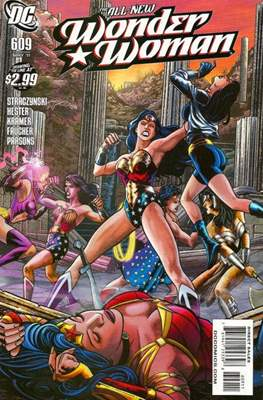 Wonder Woman Vol. 3 (2006-2011) (Comic Book) #609