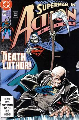 Action Comics Vol. 1 (1938-2011; 2016-) (Comic Book) #660