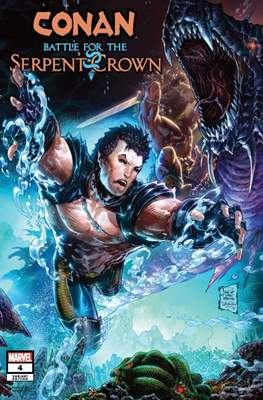 Conan: Battle for the Serpent Crown (Variant Cover) #4.1
