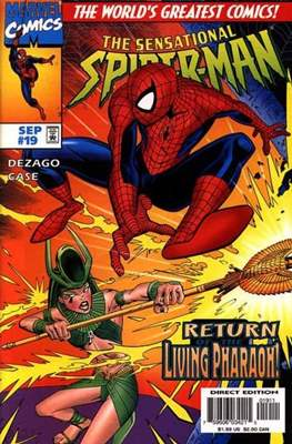 The Sensational Spider-Man (1996-1998) (Comic Book) #19