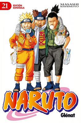 Naruto (Rústica con sobrecubierta) #21