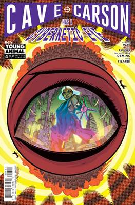 Cave Carson Has a Cybernetic Eye #4