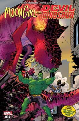 Moon Girl and Devil Dinosaur (Comic-book) #4