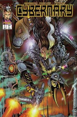 Cybernary (Comic-Book) #3