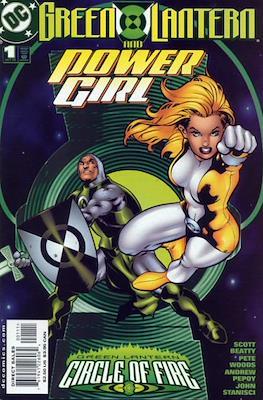 Green Lantern Circle of Fire: Green Lantern and Power Girl