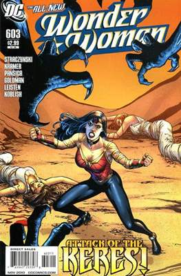 Wonder Woman Vol. 3 (2006-2011) (Comic Book) #603