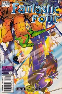 Fantastic Four Vol. 1 (1961-1996) (saddle-stitched) #415