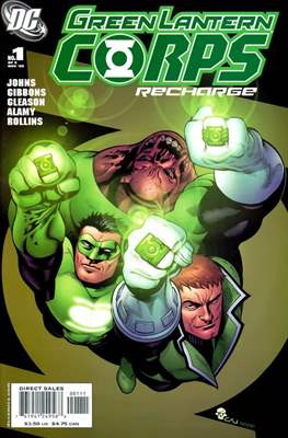 Green Lantern Corps: Recharge (2005-2006) #1