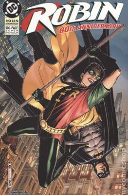 Robin 80th Anniversary (Variant Cover) (Softcover 100 pp) #1.5