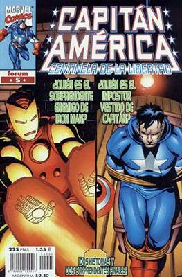 Capitán América: Centinela de la libertad (1999-2000) (Grapa.) #5