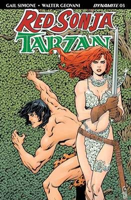 Red Sonja / Tarzan (2018) #3