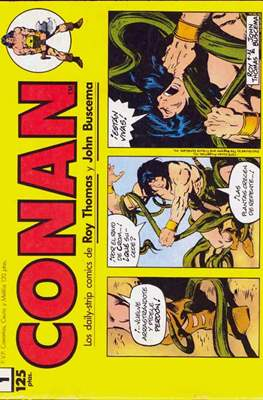 Conan. Los daily-strip comics (1989)