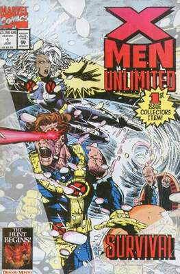 X-Men Unlimited Vol 1 (1993-2003) (Comic-Book) #1
