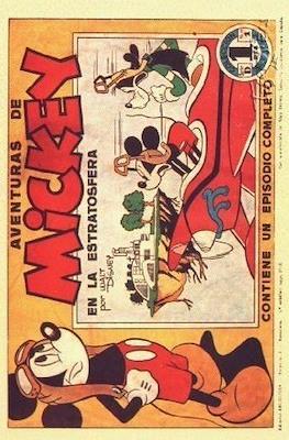 Aventuras de Mickey. Walt Disney Serie D