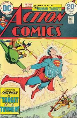 Action Comics Vol. 1 (1938-2011; 2016-) (Comic Book) #432