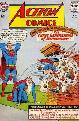 Action Comics Vol. 1 (1938-2011; 2016-) (Comic Book) #327