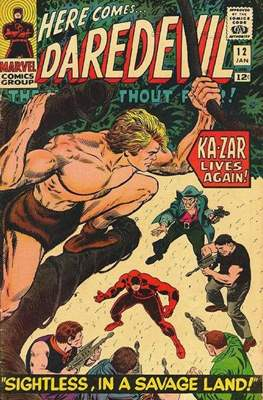 Daredevil Vol. 1 (1964-1998) (Comic Book) #12