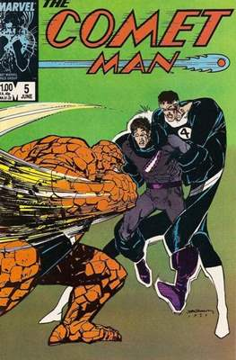 Comet Man (Comic-book.) #5