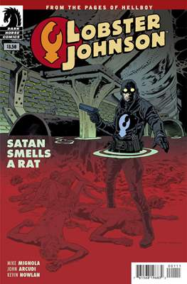 Lobster Johnson (Comic Book) #13