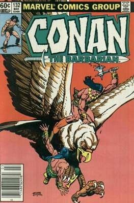Conan The Barbarian (1970-1993) (Comic Book 32 pp) #132