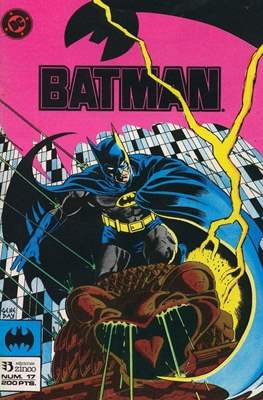 Batman (1987-1993) (Grapa) #17