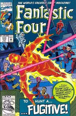Fantastic Four Vol. 1 (1961-1996) (saddle-stitched) #373