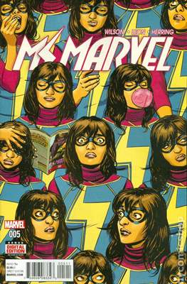 Ms. Marvel (Vol. 4 2015-...) (Comic book) #5