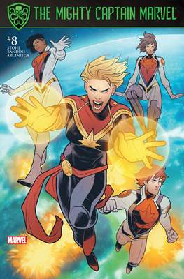 The Mighty Captain Marvel (2017-) #8