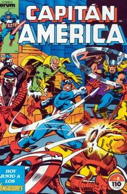 Capitán América vol. 1 / Marvel Two-in-one: Capitán America & Thor vol. 1 (1985-1992) (Grapa 32-64 pp) #8