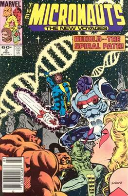The Micronauts The New Voyages (Comic Book) #5