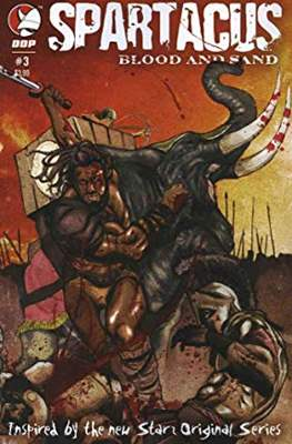 Spartacus Blood and Sand (Comic Book) #3