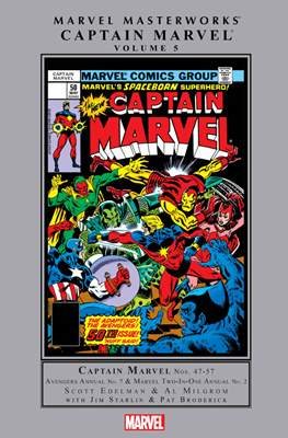 Marvel Masterworks: Captain Marvel (Hardcover) #5