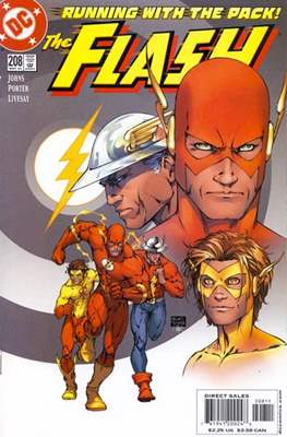 The Flash Vol. 2 (1987-2006) (Comic Book) #208