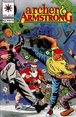 Archer & Armstrong (Comic-book) #20