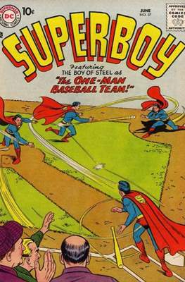 Superboy Vol.1 / Superboy and the Legion of Super-Heroes (Comic Book) #57