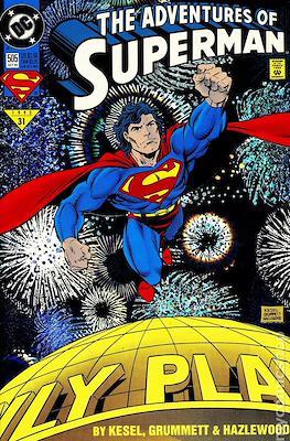 Superman Vol. 1 / Adventures of Superman Vol. 1 (1939-2011) (Comic Book) #505