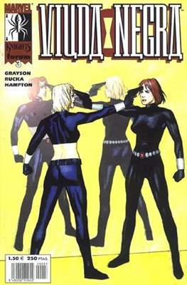 Viuda Negra Vol. 2 (2001-2002). Marvel Knights (Grapa 24 pp) #3