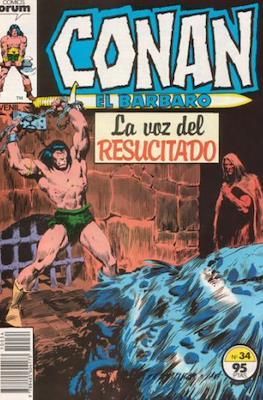 Conan el Bárbaro (1983-1994) (Grapa. 19x27. 36/32/24 páginas. Color.) #34