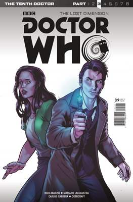 Doctor Who: The Tenth Doctor Adventures Year Three (Comic Book) #9