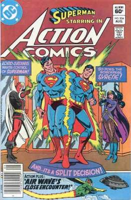 Action Comics Vol. 1 (1938-2011; 2016-) (Comic Book) #534