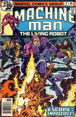 Machine Man Vol. 1 #8