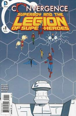 Convergence Superboy and the Legion of Super-Heroes (2015) (Saddle-stitched) #1
