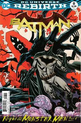 Batman Vol. 3 (2016-) (Comic-book) #8