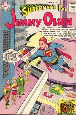 Superman's Pal, Jimmy Olsen / The Superman Family (Comic Book) #39